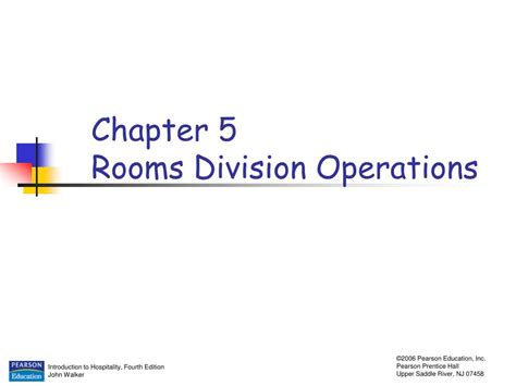 chapter ppt ppt chapter 5 rooms division operations powerpoint presentation id 328586