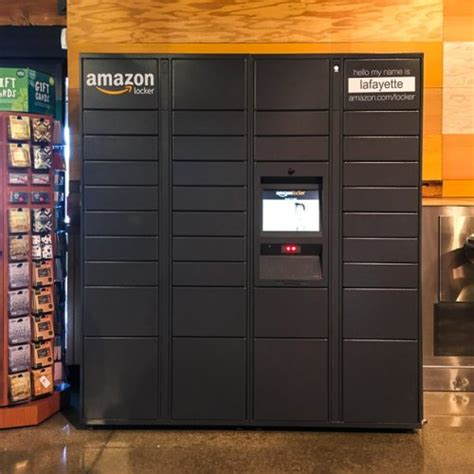 amazon locker amazon locker spotted in lafayette whole foods beyond