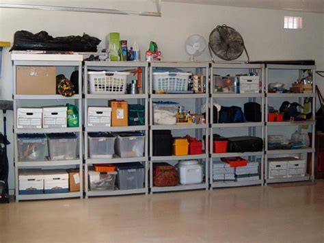 how to organize a garage 8 ways to organize the garage and the attic