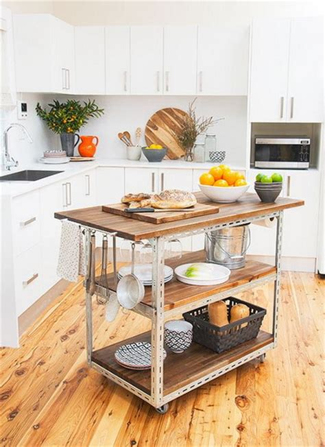 Butcher Block Portable Kitchen Island by Cocinas Con Isla Decoraci 243 N De Interiores Y Exteriores