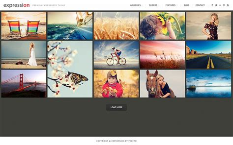 themes wordpress photography 25 best photography wordpress themes of 2018