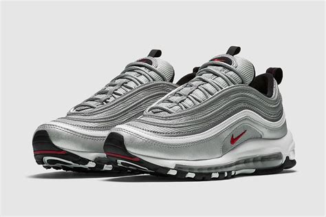 Nike Air Max 97 Silver Bullets re release der nike air max 97 silver bullet kehrt zur 252 ck