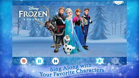 film frozen karaoke download game android disney karaoke frozen