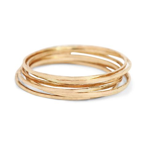 Jewelry Rings by Catbird Threadbare Ring Yellow Gold