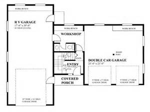 Rv Garage Floor Plans by Rv Garage Plans Rv Garage Plan With Future Apartment