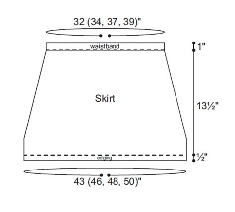 mini spirograph pattern maker mod mini skirt favecrafts com