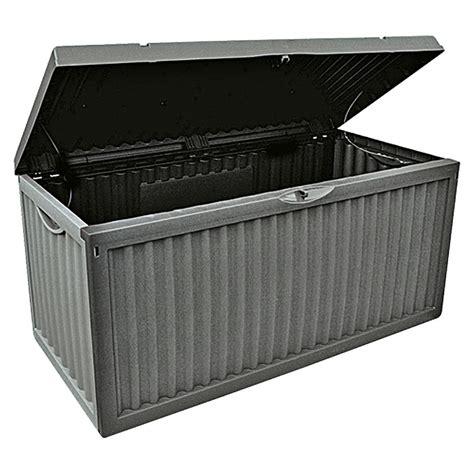 garten aufbewahrungsbox garten aufbewahrungsbox wave anthrazit 120 x 52 x 54 cm