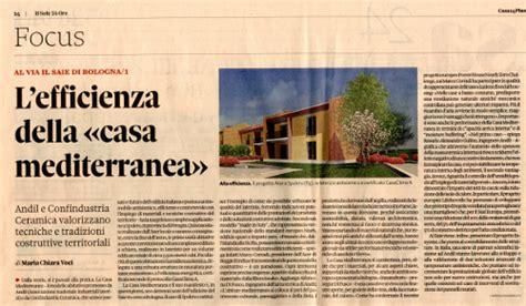 sole 24 ore casa sole24ore l efficenza della quot casa mediterranea
