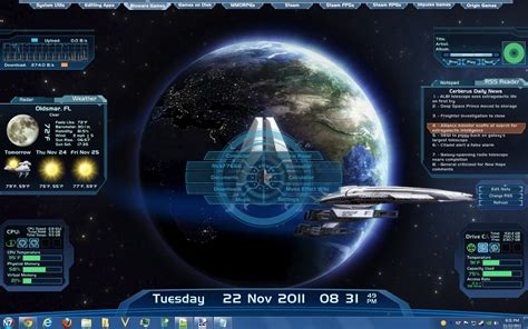 Win Win Win Gadget Skins From Skins4things by Mass Effect Rainmeter Skin By Rickf7666 On Deviantart
