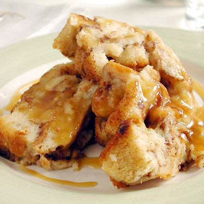 Bread Pudding Two Ways Beginner Expert by Cinnamon Bread Puddings With Caramel Syrup Recipe Myrecipes