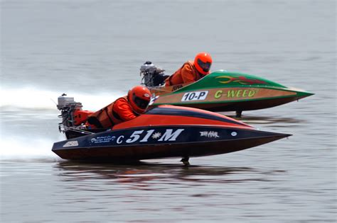 outboard drag boat racing stock outboard american power boat association