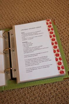 Monogram Recipe Sheet Editable Recipe Card Preppy Template Wedding Elegant Monogram Recipe Book Project Binder Templates