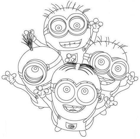 minions thanksgiving coloring pages cute minions despicable me coloring pages for kids boys