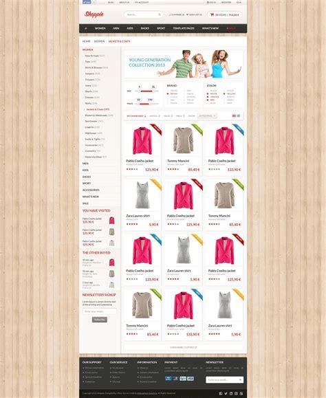 Shoppie Responsive E Shop Html5 Template By Adamantium Themeforest Eshop Template