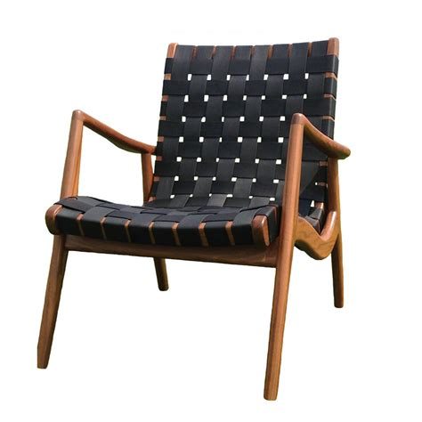 wlc 22 woven leather armchair mel smilow suite ny