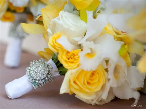 Wedding Bouquet Yellow by Southern Blue Celebrations Yellow Bridal Bouquets