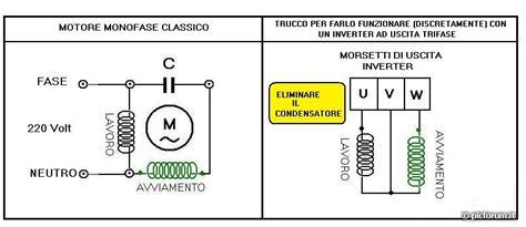 condensatore per motore trifase alimentato monofase condensatore di spunto per motori monofase montare