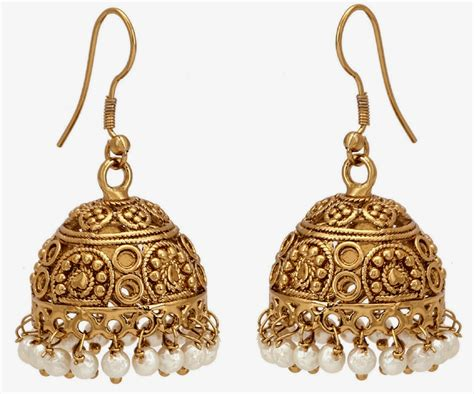 earings desing latest gold jhumka earring designs hd wallpaper all 4u