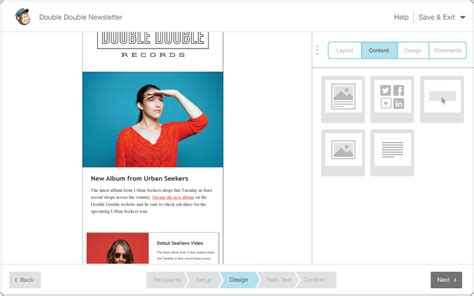 newsletter templates for mailchimp image gallery mailchimp email