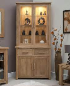 Dining Room Display Cabinets by Eton Solid Oak Living Dining Room Furniture Small Dresser