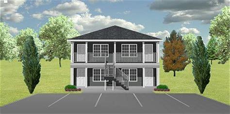cost to build a 4 plex apartment 4 plex j0929 11 4 plansource inc