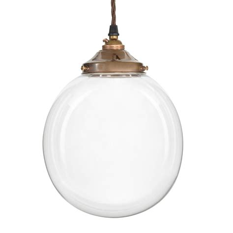 Glass Globe Pendant Light Glass Globe Pendant Light