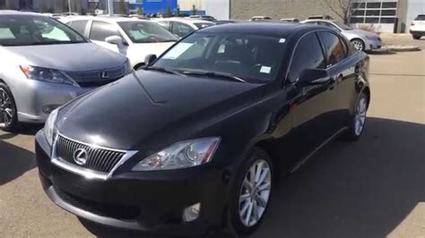 lexus is 250 blacked out pre owned black 2009 lexus is 250 awd leather with