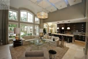 Open Concept Design by Staging The Living Room