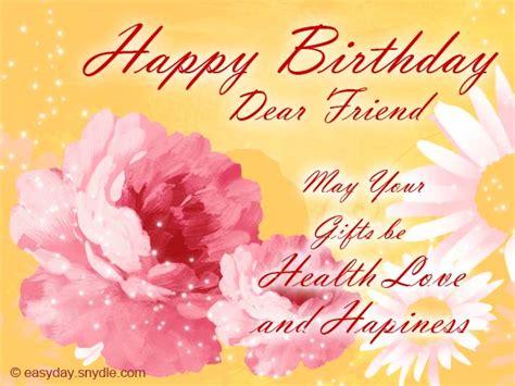 Happy Birthday Best Friend Wishes Birthday Wishes For Friend Easyday