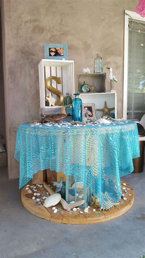 beach bridal shower theme   ideas & decorations   Beach