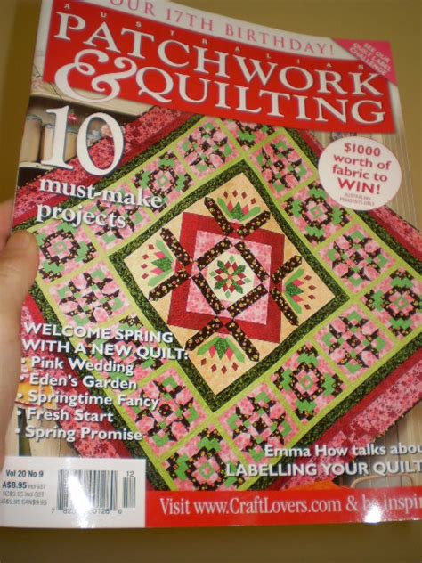 Australian Patchwork And Quilting - legend and lace australian patchwork and quilting
