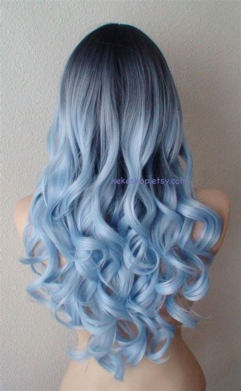 silver blue long hair pictures photos and images for facebook 1000 ideas about side curly hair on pinterest curly