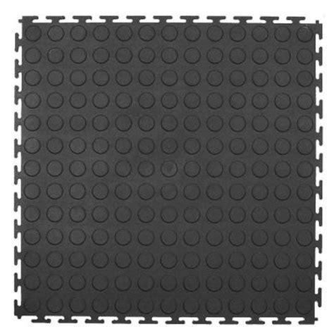 home depot rubber flooring tiles trafficmaster 18 in x 18 in rubber utility flooring 13 5 sq ft pack mt1003670 the home