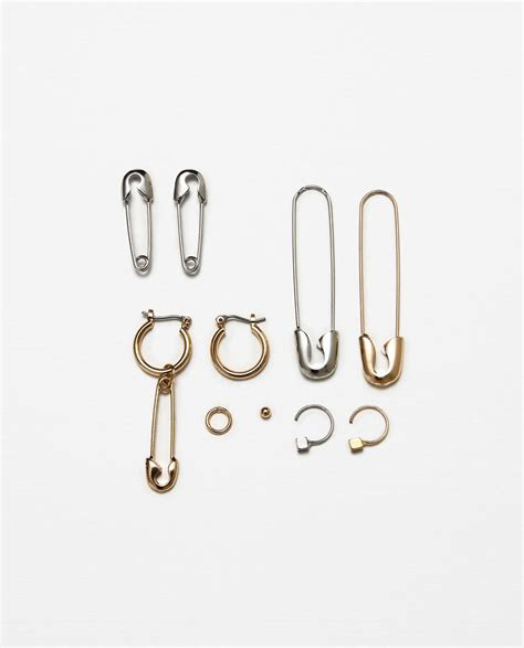 Safety Pin Statement Earrings best 25 safety pin earrings ideas on brooches