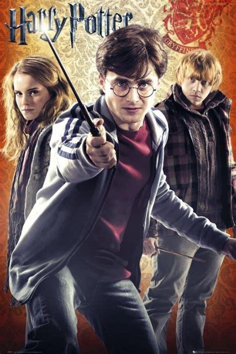 Plakat Harry Potter by Harry Potter 7 Trio Plak 225 T Obraz Na Zeď Posters Cz