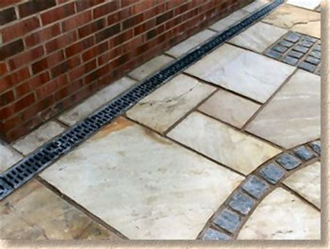 Patio Drainage Channel by 1000 Drainage Ideas On Creek
