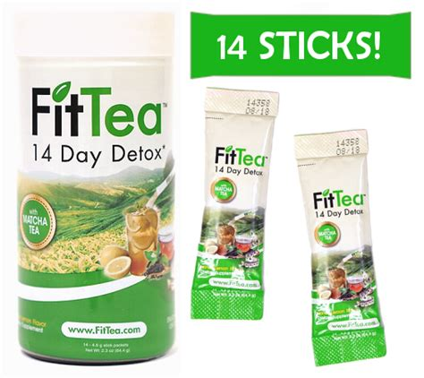 Fit Tea 14 Day Detox Tea by Fit Tea The Best Diet Tea And Detox Tea Amazing Reviews