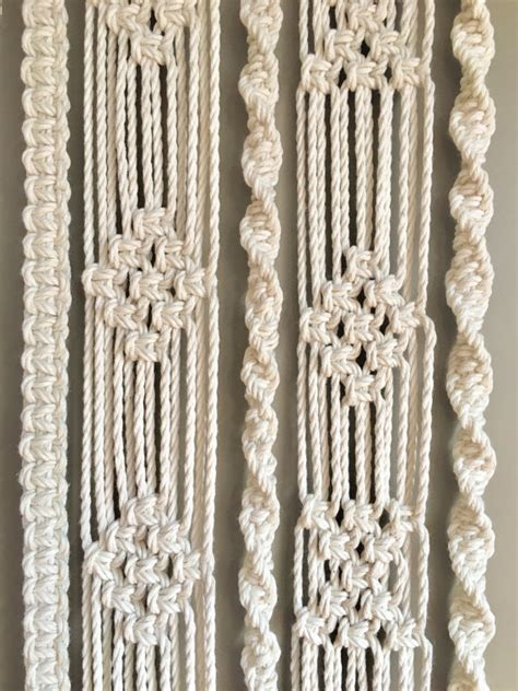 Macrame Pdf Free - macrame wall hanging pdf pattern book digital