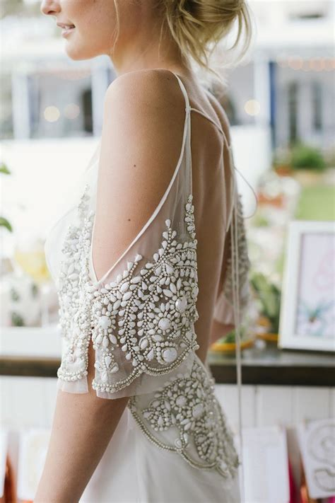 beading for wedding dresses how to embellish simple wedding dresses the best