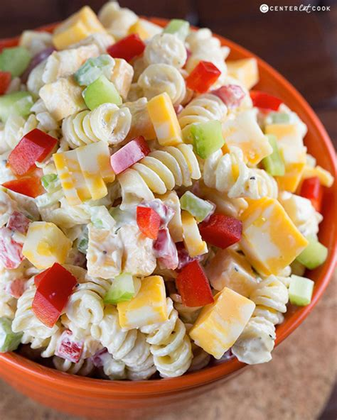 salad with pasta 50 summer pasta salad recipes easy ideas for cold pasta
