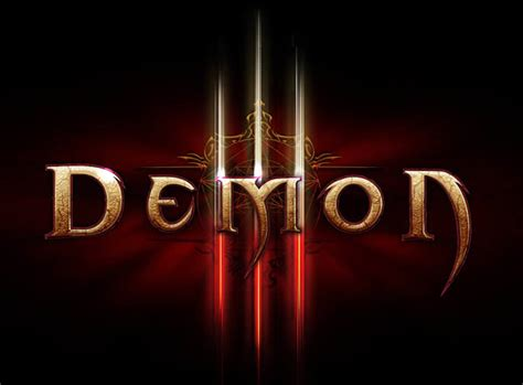 tutorial design font photoshop create a diablo iii inspired text effect in photoshop
