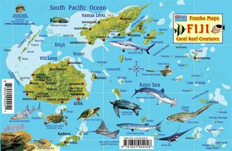 map world fiji fiji map