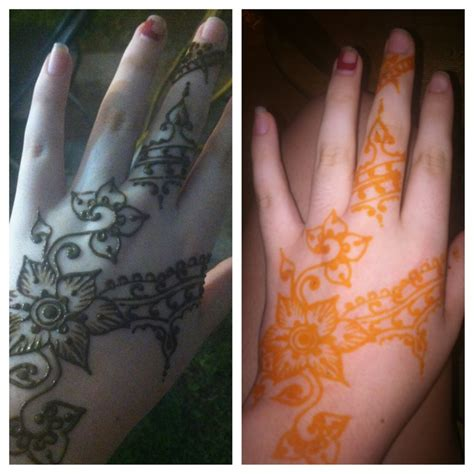is henna tattoo permanent permanent henna designs makedes