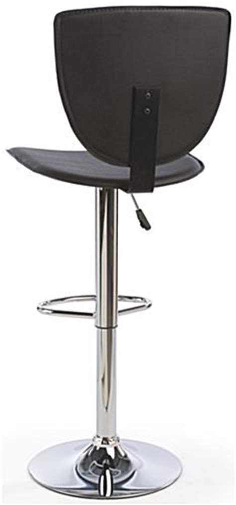 slim profile bar stools high back bar stool slim profile seat w 360 176 rotation