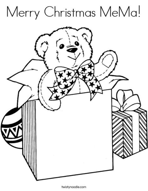 merry christmas letters coloring pages merry christmas mema coloring page twisty noodle