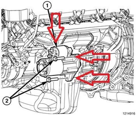 Dodge Caliber Starter Dodge Ram 2009 Present How To Replace Starter Dodgeforum