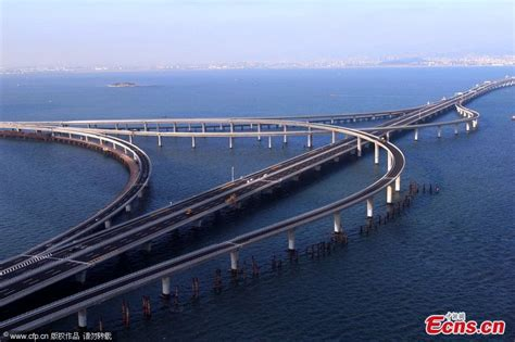 qingdao bridge jiaozhou bay bridge opens to traffic 2 headlines