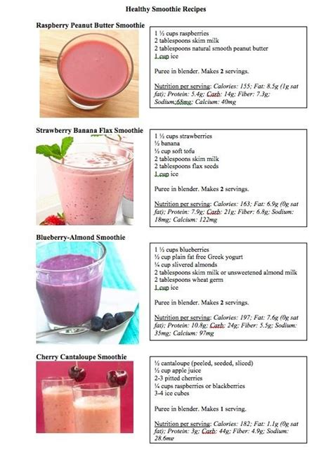 Smoothie King Detox Pills by Healthy Smoothie Recipes Healthy Healthy