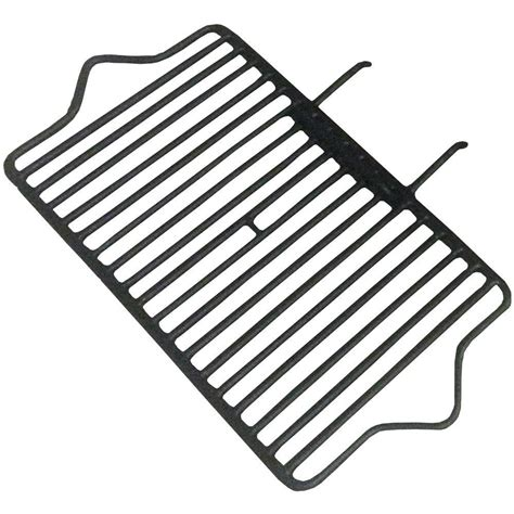 liberty foundry 24 in cast iron fireplace grate with 2 5