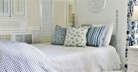 need an easy fix for a blank wall add a wall of shutters
